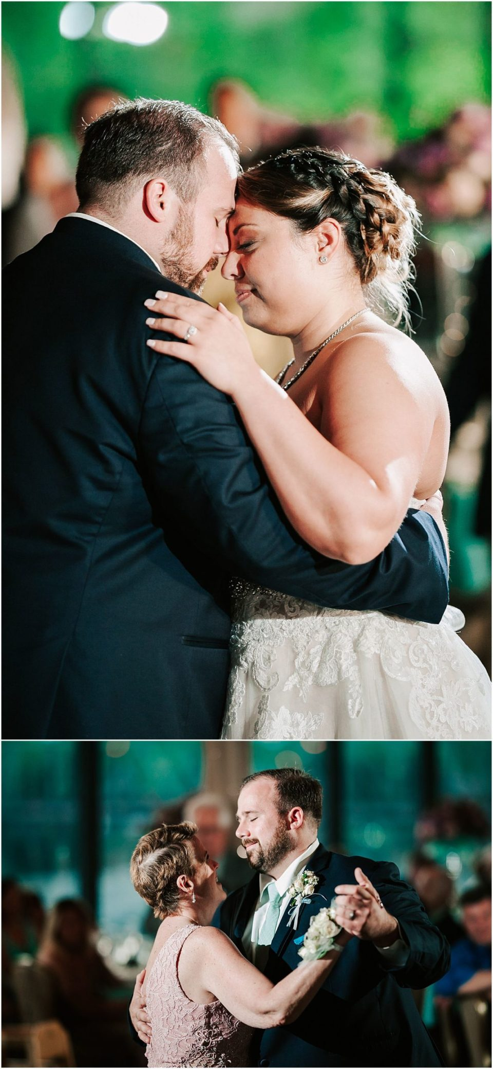 First Dance at this Lambertville Station Wedding