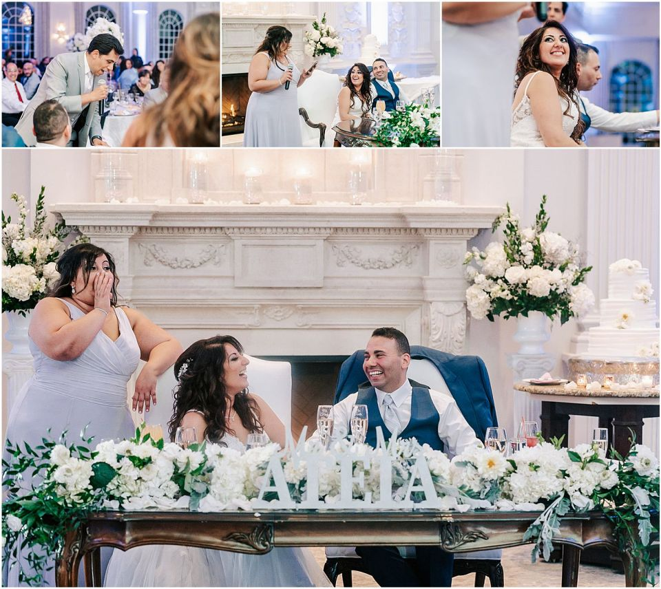 Some fun speeches at the Valley Regency Wedding