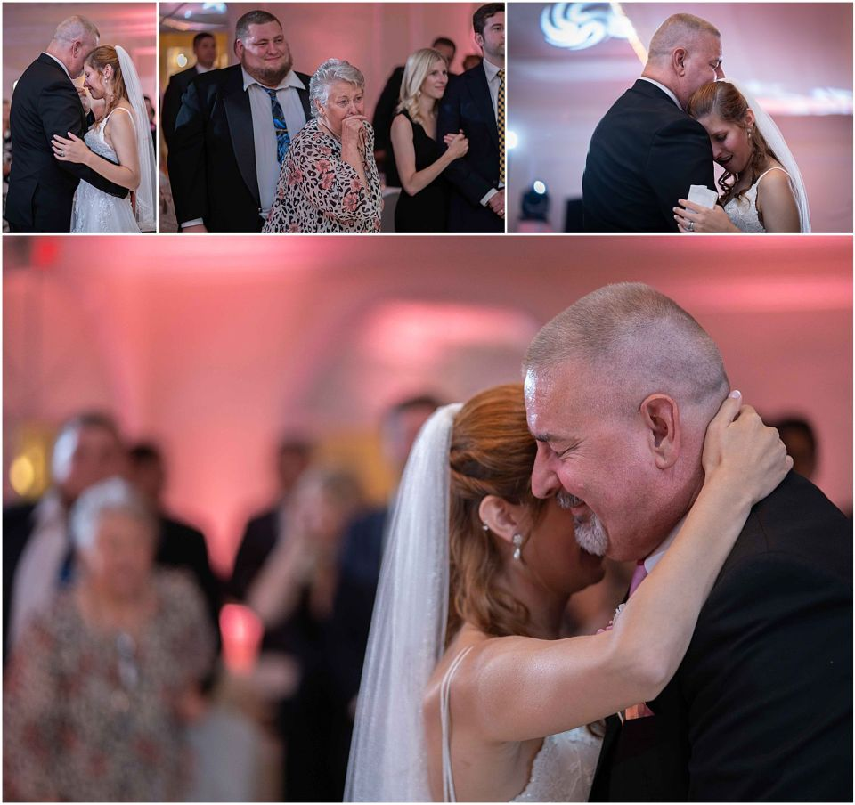 emotional parent dance at The Grand at 1600 Wedding venue