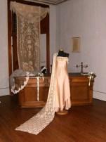 vestito da cerimonia cangiante rosa