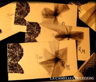 partecipazioni nozze con pizzo nero 01 - la camelia collezioni