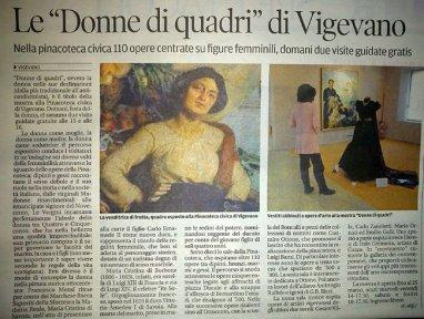 donne di quadri esposizione presso pinacoteca vigevano - la camelia collezioni