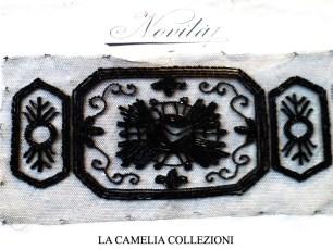 applicazione in jaiss- applicazione per vestiti con perline anni 20 e cartoncino autentico- la camelia collezioni