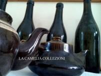 tavole vintage - vino e teiere - allestimento accessori & oggettistica - la camelia collezioni