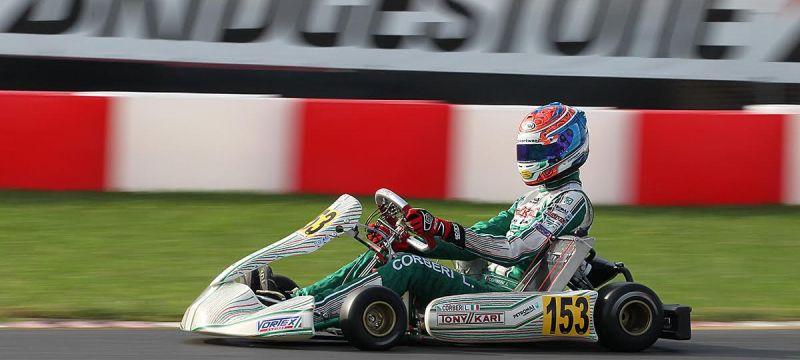 Luca Corberi, Tony Kart