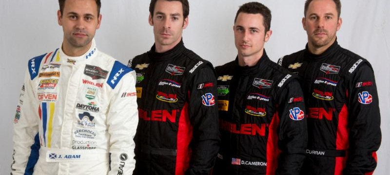 DANE CAMERON AND ERIC CURRAN ARE LOOKING FOR SUCCESS IN THE ROLEX 24 WITH A FAMILIAR FEEL AT ACTION EXPRESS RACING