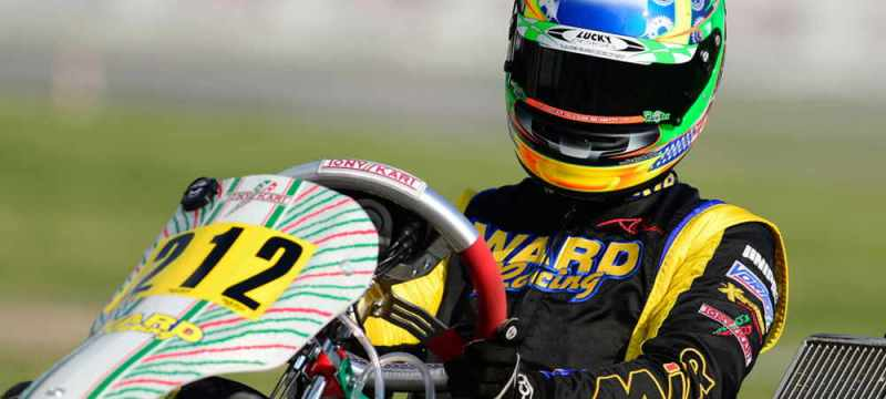 Anthony Gangi Jr. continues to strive for results in WSK Super Master Series action