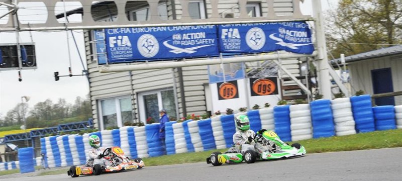 All set and ready in France for the CIK-FIA KZ and KZ2 European Championship.