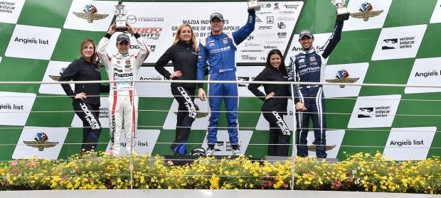 Kyle Kaiser Captures 3rd in Round 7 of the Mazda Grand Prix of Indianapolis