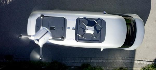 Vision Van drone landing pads