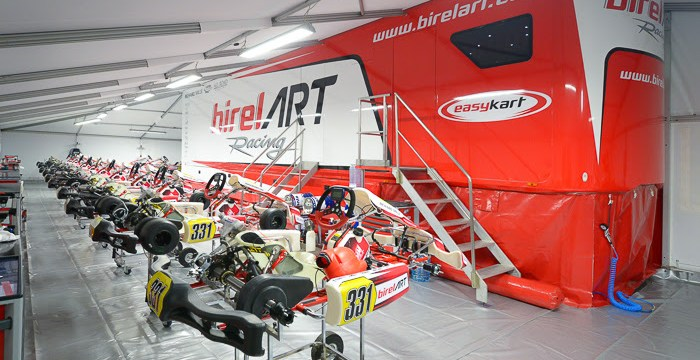 WSK Champions Cup – Very encouraging first competition for Birelart