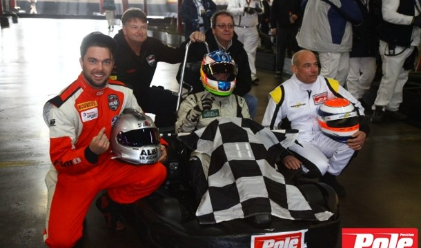 4 Heures Pole-Position winning team Photo Bruno Dorais