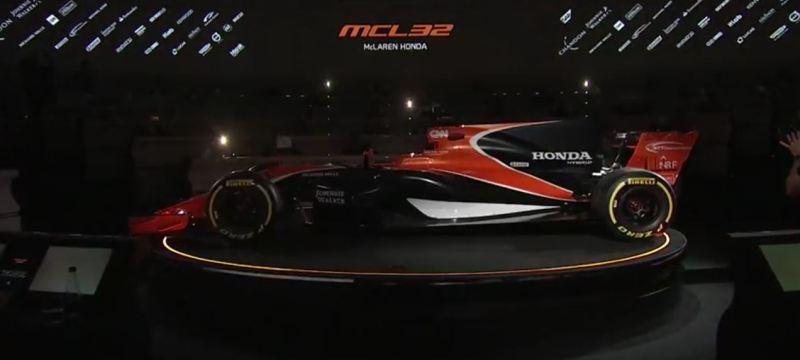 McLaren-Honda MCL32 Official Launch
