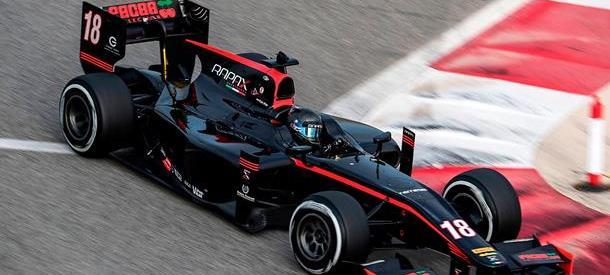 De Vries claims final day of Bahrain test