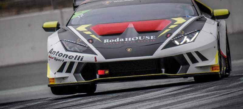 Here are the 2017 Champions of the Lamborghini Super Trofeo Middle East 1
