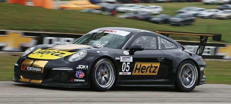 JDX Racing Opens 2017 Porsche GT3 Cup Challenge USA front view