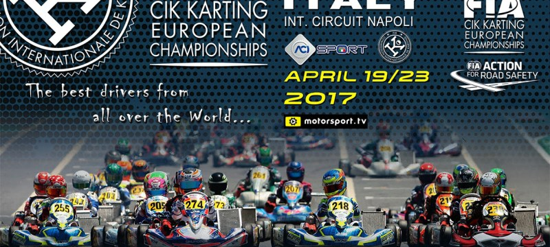 The European CIK-FIA Championship for KZ, OK and OK Junior is ready to start