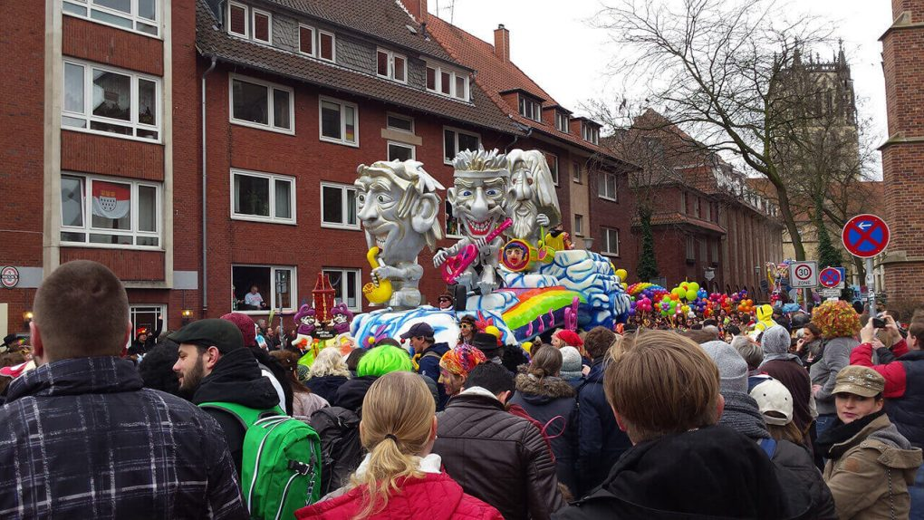 Cabezara del Rosenmontagszug de Münster