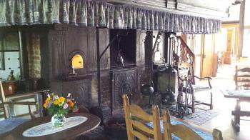 Muehlenhof Muenster detalle chimenea