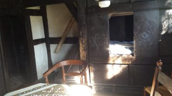 Muehlenhof Muenster detalle vivienda dormitorio