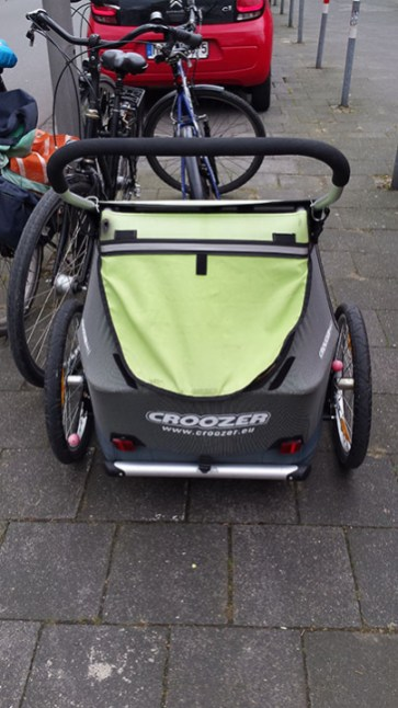 carrito para ninos bici