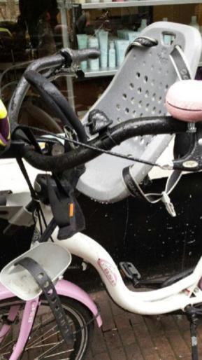 detalle siliita delantera bici