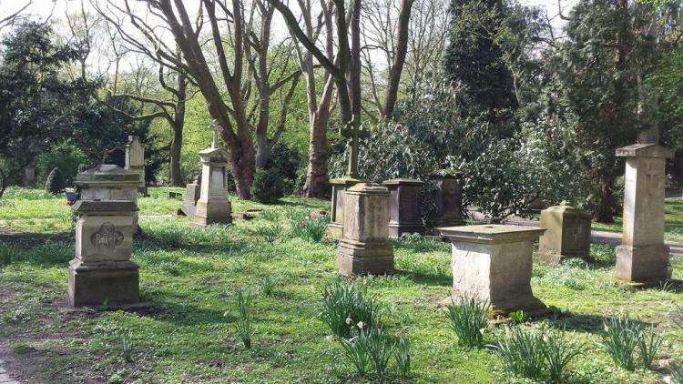 El Überwasserfriedhof de Münster