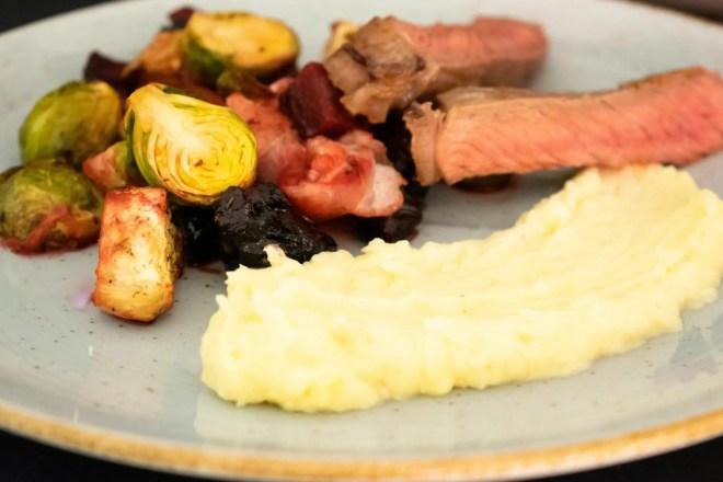 Winterofengemüse mit Kartoffelpüree