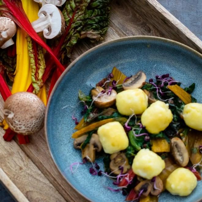 gefüllte Gnocchi - Ricottafüllung Kartoffeln