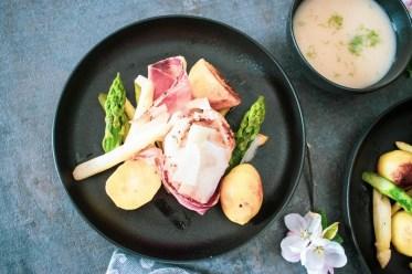Kartoffel-Spargelgröstel