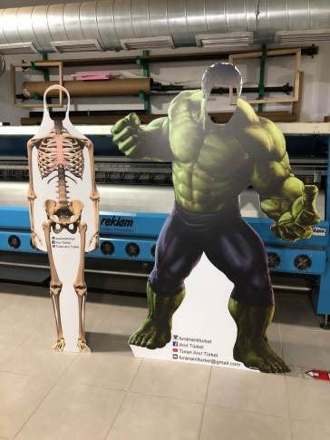 Hulk Cut Out