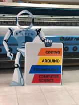 Karton Robot Maketi