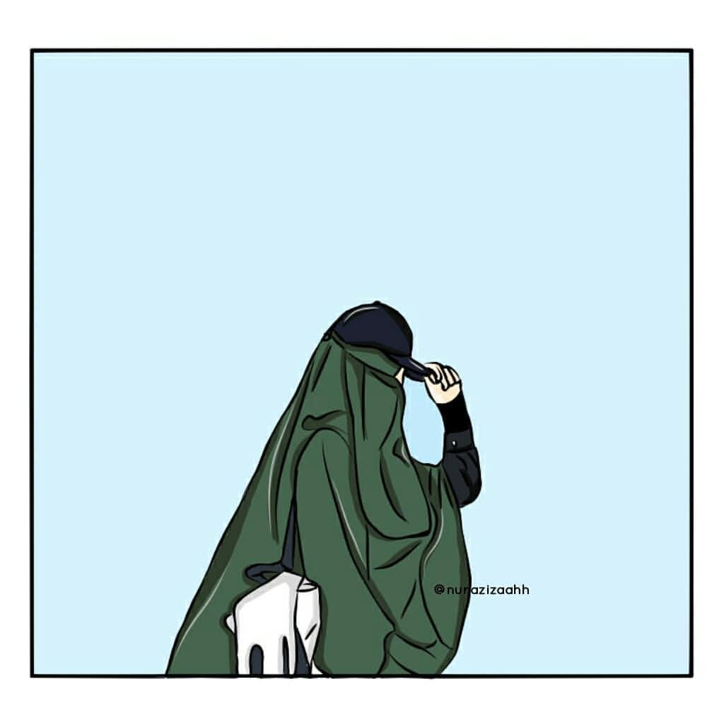 Animasi Kartun Muslimah Bercadar Terbaru  Galeri Kartun
