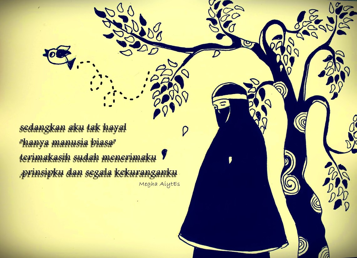 Gambar Kartun Muslimah Bercadar Prinsip seorang Muslimah