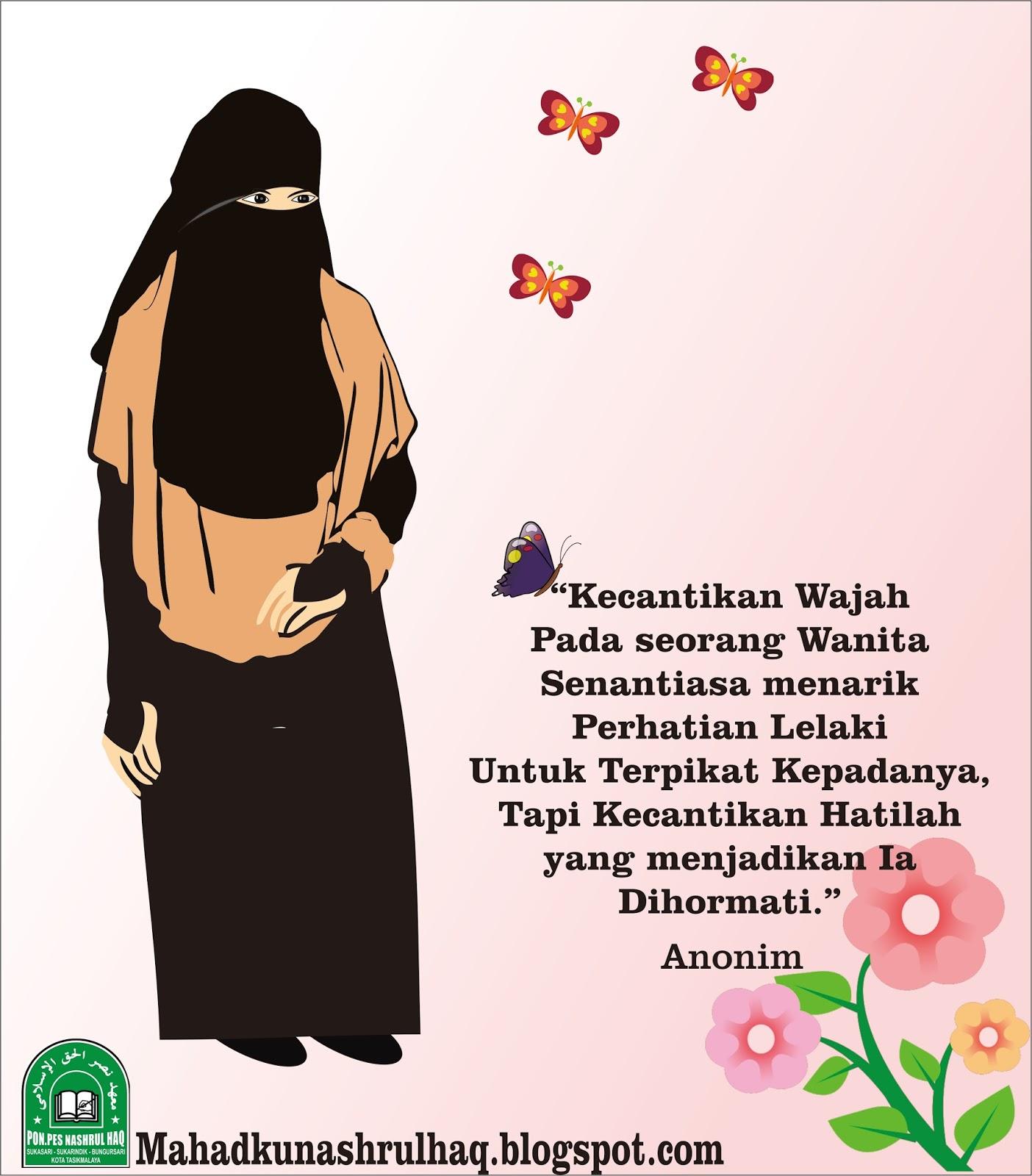 Gambar Kartun Perempuan Muslimah