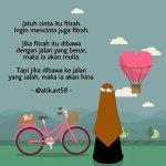 Kartun Muslimah Jatuh Cinta itu Fitrah