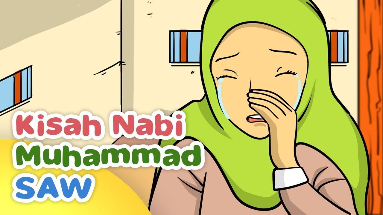 76 Koleksi Gambar Kartun Muslimah Yang Sedang Menangis HD Terbaik