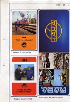 1988-as kártyanaptár-album - 055