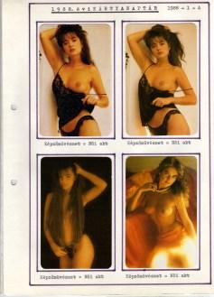 1988-as kártyanaptár-album - 001