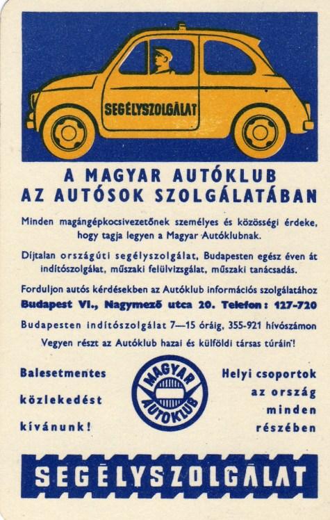 Autóklub - 1968