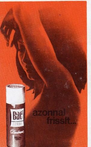 BAC spray - 1973