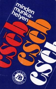 ÁB - CSÉB - 1976