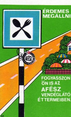 ÁFÉSZ Vendéglők - 1977