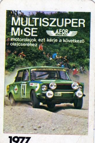 ÁFOR - 1977