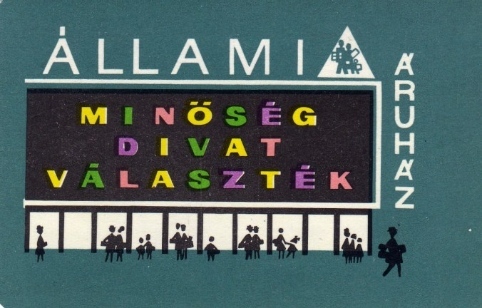 Állami Áruház - 1966