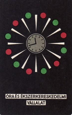 Óra és Ékszerkereskedelmi Vállalat - 1970