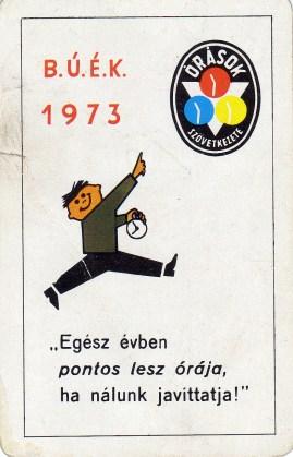 Órások Szövetkezete - 1973