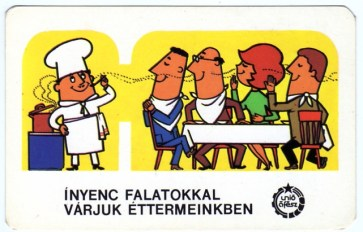 Únió ÁFÉSZ (vendéglátás) - 1981