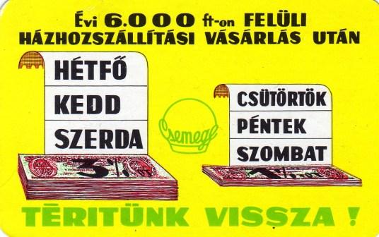 CSEMEGE - 1974