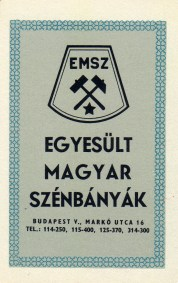 Egyesült Magyar Szénbányák - 1970
